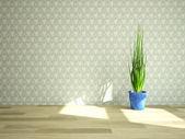 Plant near the wall  — Stock Photo