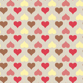 Texture with hearts — Stock Vector