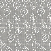 Folhas de textura com branco — Vetor de Stock