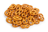 Tasty pretzels biscuits — Stock Photo