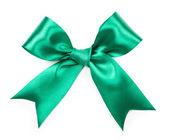 Fiocco decorativo verde — Foto Stock