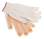Work gloves isolated on white background — Stock Photo