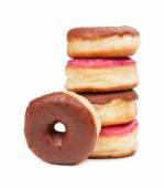 Tasty baked donuts — Stock Photo