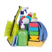 Objects for cleaning — Stock Photo