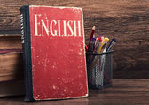 Learning english concept — Stock fotografie