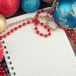 Christmas and New Year decoration — Stock Photo #54530985
