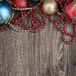 Christmas and New Year decoration — Stock Photo #54531063