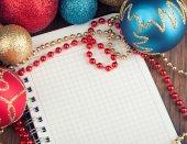 Decorazione di Natale e Capodanno — Foto Stock