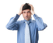 Headache business — Stock Photo
