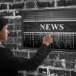 Online news concept — Stock Photo #59429875