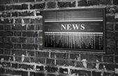 Online news concept — Stock Photo