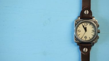 Vintage watches — Stock Video