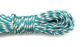 Coiled Nylon Rope isolated on white background — Stock Photo