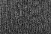 Monochrome knitting wool texture background — Stock Photo