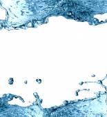 Watersplash Frame — Stock Photo