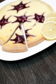 Bilberry Cheesecake — Stockfoto