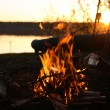 Camp-Fire — Stock Photo #73193077