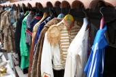 Vintage Clothing Store — Stock Photo