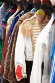 Vintage Clothing Store — Stock Photo