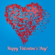 Valentine's Day Card — Stock Vector #63890893