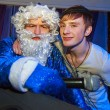 Santa and dj — Stock Photo #60069943