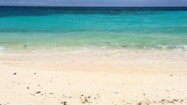 Turquoise sea beach, Philippines — Стоковое видео