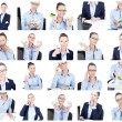 Business collage — Stock Photo #55267221