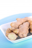 Dry ginger roots — Stock Photo