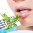 Happy vegetarian diet — Stock Photo #58545299