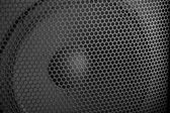 Sound Speaker grill texture — 图库照片