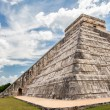 Chichen Itza, mayan pyramid in Yucatan, Mexico — Stock Photo #71784853