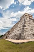 Chichen Itza, mayan pyramid in Yucatan, Mexico — Stock Photo