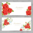 Invitation cards — Stock Vector #58202039