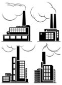 Icônes industrielles. — Vecteur