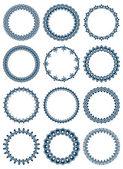 Elegant round frames — Stock Vector