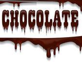 Chocolate design. — Stock Vector