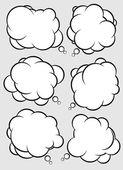 Talking bubbles — Stock Vector