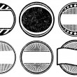 Set of grunge rubber stamps templates — Stock Vector #66396307