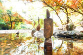 Calm and spiritual natural landscape — Foto de Stock