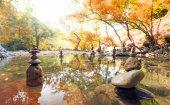 Calm and spiritual natural landscape — Stock fotografie