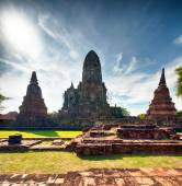 Ayutthaya Thailand - ancient city and historical place — Stock Photo