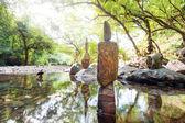 Zen garden. — Stock Photo