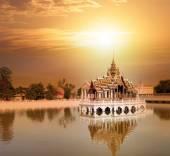 Bang Pa In ancient palace — Stock Photo