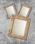 Grunge frame with vintage ornament — Stock Photo