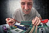 Hardware expert — Stock Photo