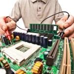 Hardware expert — Stock Photo