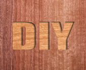 Diy text — Foto de Stock