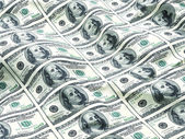 Dollars flag — Stock Photo