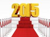 Nowy rok 2015 — Zdjęcie stockowe