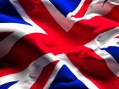 Union jack flag — Zdjęcie stockowe